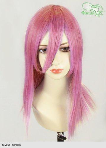 スキップウィッグ 魅せる シャープ 小顔に特化したコスプレアレンジウィッグ フェアリーミディ ノーブルピンク