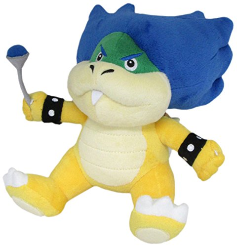 "Little Buddy Super Mario Series Ludwig Von Koopa 7"" Plush"