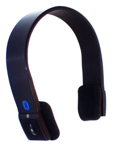 S10 (Very NEW Luxurious Black) Enhanced Data Rate Bluetooth Stereo Headset (Music and Voice). Ideal Headsets with good bass to enjoy iPod/iPhone/iPad/iTouch MULTI-STREAM music from Tiny i10 iPod Transmitter.