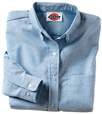 f8324771d Dickies - 254 Women's Button-Down Oxford Shirt - Long Sleeve Special ...