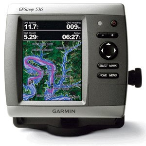 Garmin GPSMAP 536 5-Inch Waterproof Marine GPS and Chartplotter