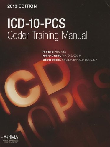 ICD-10-PCs Coder Training Manual