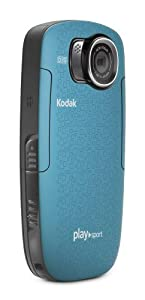 Kodak PlaySport Zx5 Full HD 1080P,  Waterproof, Dustproof and Shockproof - Aqua
