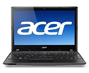 Acer Aspire One AO756-2626 11.6-Inch Laptop (1.1 GHz Intel Celeron Processor 847, 4GB DDR3, 320GB HDD, Windows 8) Ash Black