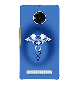 printtech Doctor logo Back Case Cover for YU Yuphoria::Micromax Yuphoria YU5010