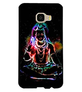 ColourCraft Lord Shiva Design Back Case Cover for SAMSUNG GALAXY C5