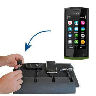 Unique Gomadic 4-Port Charging Station for the Nokia Fate - Charge four devices with TipExchange Technology
