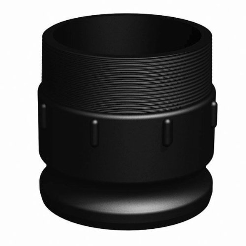 RealPro Cam & Groove Fitting, 4 Cap-Male Adapter
