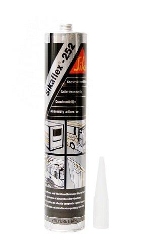 Sikaflex--Kartusche 252, 300 ml, Weiss
