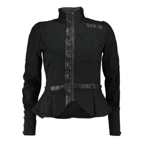 Living Dead Souls Jacket ABBY black M