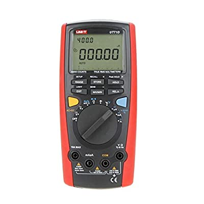 Signstek UNI-T UT71D True Rms Dmm Digital Multimeter Intelligent USB Volt Amp Ohm Capacitance Thermometer Tester