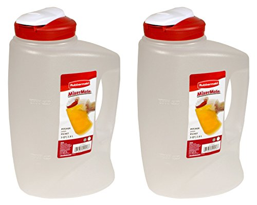 Rubbermaid 1776501 3-Qt. Seal N' Saver Pitcher/Bottle (Pack of 2) (Pitcher Rubbermaid compare prices)