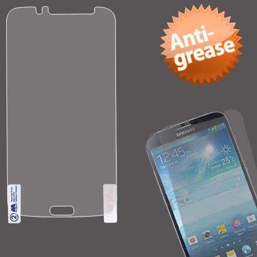 Mybat Anti Grease Lcd Screen Guard Protector Shield Film Kit For Samsung Galaxy Mega I527 - Retail Packaging - Clear