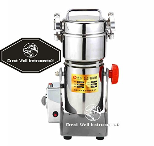 300g stainless steel high-speed grinder mill family medicial powder machine commercial electric grinder Mill Herb Grinder,pulverizer (Chinese Medicine Grinder compare prices)