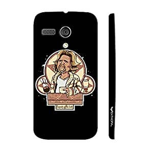 Motorola Moto G 1st Gen The Big Lebowski designer mobile hard shell case by Enthopia