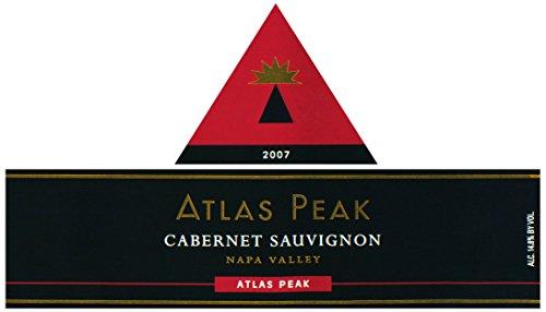 2007 Atlas Peak Cabernet Sauvignon Atlas Peak Mtn 3.0L