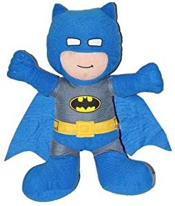 DC Comic Justice League Warner Brothers Baby Batman Super Hero Plush Doll