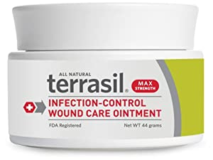 Terrasil Wound Care Antiseptic Ointment Max