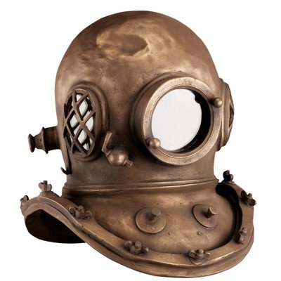 Design Toscano Replica Deep Sea Diver's Helmet