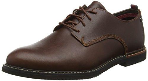 Timberland C5514A - Scarpe Basse Derby da Uomo, colore Marrone (Red Brown), taglia 49