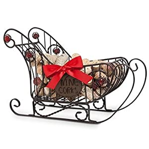 Cork Cage Wine Holder Sleigh