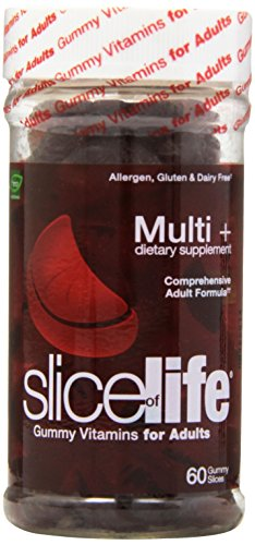 Slice Of Life Multi+ Dietary Supplement, 60-Count Gummy Slices