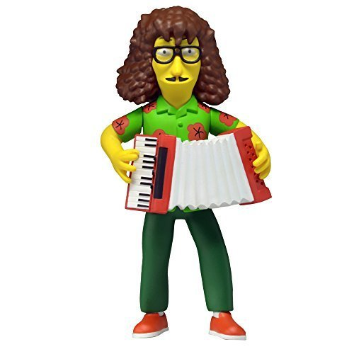 """NECA Simpsons 25th Anniversary Series 4 Weird Al 5"""" Celebrity Action Figure by NECA"""