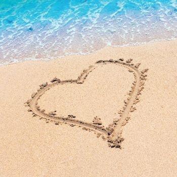 Beach Love Beverage Napkin (16)