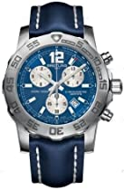 Breitling Mens Colt Blue Dial Chronograph II Watch
