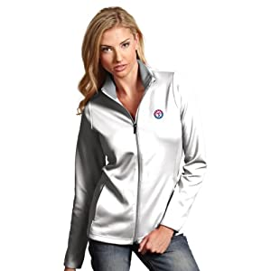 MLB Texas Rangers Ladies Leader Jacket by Antigua