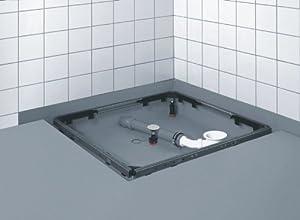 80120 Duschwannenfuß Brausewannenfuß Duschfüße Wannenkreuz Rahmen Montagerahmen Rechteck für Duschtasse  BaumarktKundenbewertung und weitere Informationen