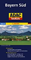 ADAC AutoKarte Deutschland 13. Bayern Süd 1 : 200 000: Registerheft: Zufahrtskarten und Citypläne, umfangreiches Ortsregister mit Postleitzahlen. ... möglicher Staustrecken auf Autobahnen