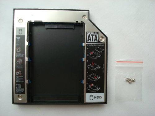 NEW SATA 2nd HDD caddy for 12.7mm Pandemic CD/DVD-ROM