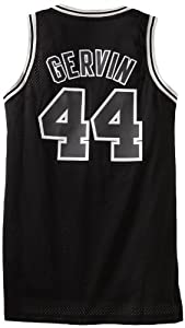 NBA San Antonio Spurs Black Swingman Jersey George Gervin #44 by adidas