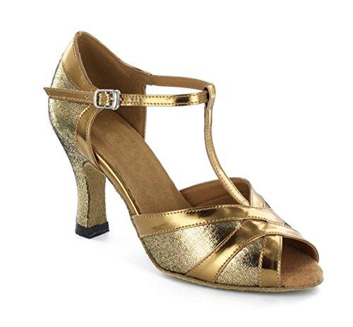 Minitoo ,  Damen Tanzschuhe , Gold - gold - Größe: 39