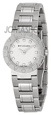 Bvlgari Women's BVLBB23WSS-12N White Dial Watch