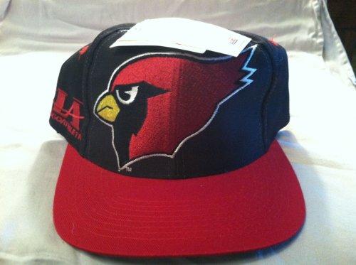 Arizona Cardinals Vintage Big Logo Snapback Hat by Logo Athletic