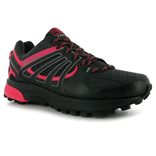 Karrimor Womens Tempo 3 Ladies Trail Running Shoes Laced Shaped Heel Footwear