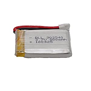SYMA X5SW 「バッテリー 3.7V 800mAh 9025405個 」+「マルチ充電器(5台同時)」 セット ※過充電保護機能付き  … [並行輸入品]