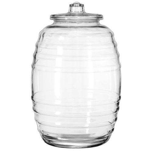 Crisa 20 Liter Glass Barrel w/ Lid (Giant Glass Container compare prices)