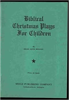 Bliblical Christmas Plays for Children (Five Short Plays ...