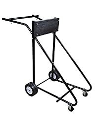 TMS 315 Lb Outboard Boat Motor Stand Carrier Cart Dolly Storage Pro Heavy Duty New