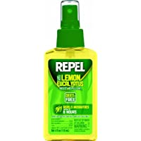 Repel Lemon Eucalyptus Natural Insect Repellent,4 oz.