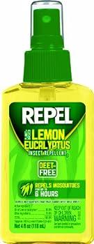 Lemon Eucalyptus Natural Insect Repellent 4 oz. Pump Spray