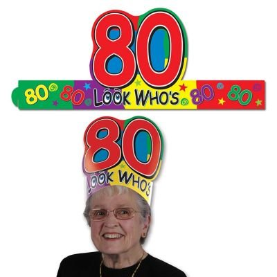 "Look Who's ""80"" Headband Party Accessory"
