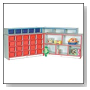 Preschool Plastic Storage Unit