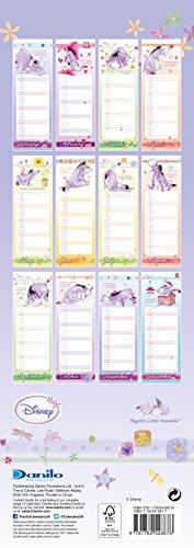The Official Eeyore 2016 Slim Calendar
