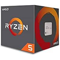 AMD Ryzen 5 1600 3.2GHz Six-Core 3.6GHz Max Turbo Frequency AM4 Processor
