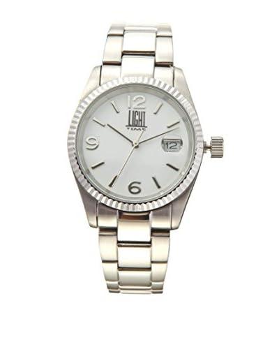 Light Time Reloj International Plateado