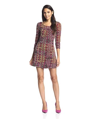 Aryeh Women's Abstract Circle Shift Dress